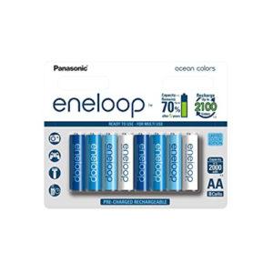 Panasonic Eneloop Rechargeable Batteries Pack of 8 Online Buy Mumbai India 01