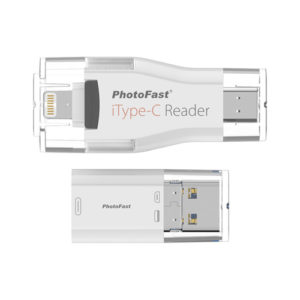 PhotoFast iType C Reader with Lightning USB 3.0 Type C