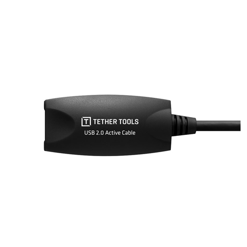 Tether Tools TetherPro USB 2.0 Active Extension Cable 16 Black 2