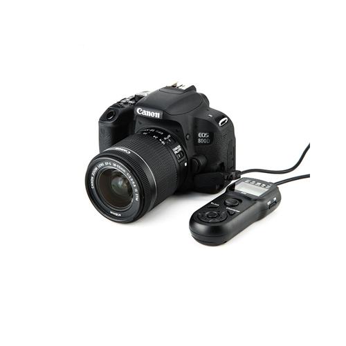 Timer Remote Shutter Cord for CANON RS 60E3 PENTAX CS 205 CONTAX LA 50 4