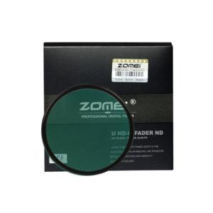 Zomei 58mm U HD W FADER ND