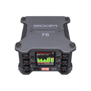 Zoom F6 MultiTrack Field Recorder 6 Input 14 Track