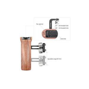 SmallRig Wooden Universal Side Handle 2093 1