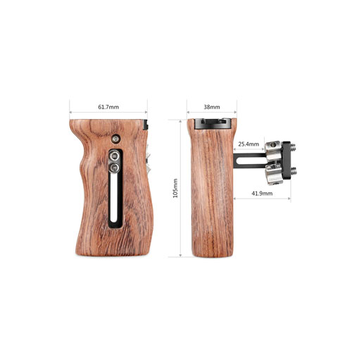 SmallRig Wooden Universal Side Handle 2093 4