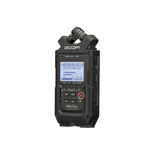 Zoom H4n Pro 4 Channel Portable Handy Recorder Black 2