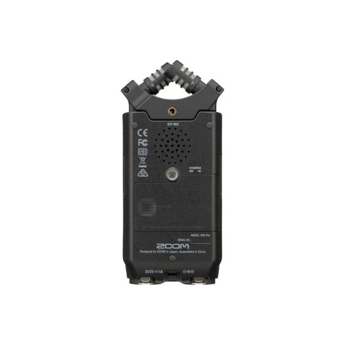 Zoom H4n Pro 4 Channel Portable Handy Recorder Black 4