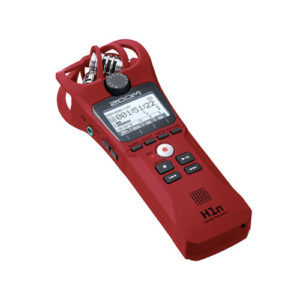 Zoom H1n Handy Recorder Red 1