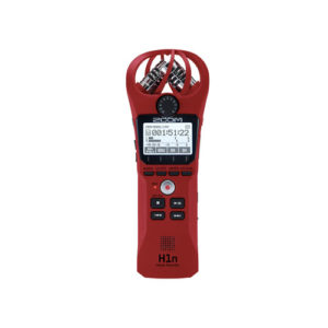 Zoom H1n Handy Recorder Red 3