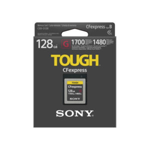 Sony 128GB CEB G Series CFexpress Type B Memory Card 02