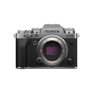 Fujifilm X T4 Mirrorless Digital Camera Body Silver 01