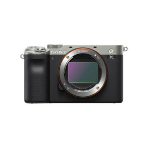 Sony Alpha a7C Mirrorless Camera Body Only Silver Online Buy Mumbai India 01