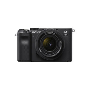 Sony Alpha a7C Mirrorless Camera with 28 60mm Lens Black Online Buy Mumbai India 01