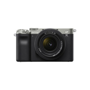 Sony Alpha a7C Mirrorless Camera with 28 60mm Lens Silver Online Buy Mumbai India 01